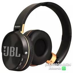 Fone de Ouvido Bluetooth- S/Fio JBL 1 linha alta qualidade. Everest Wireless