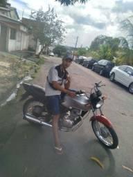 vende moto 125 do leilão  top