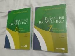 Dois Livros Direito Civil Brasileiro