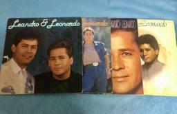 Discos Leandro e Leonardo