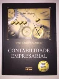 Livro Contabilidade Empresarial 16a Edição José Carlos Marion