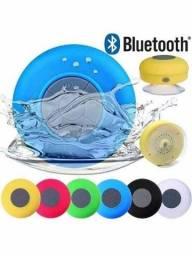 Caixa Som Bluetooth Resistente Água Ventosa Viva Voz Bts-06