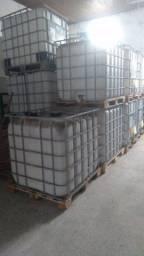 ibc - reservatório gradeado capacidade para 1000 litros - usado