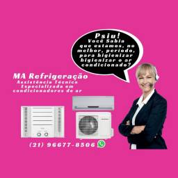 Título do anúncio: Vende-se e realiza instalação e manutenção de ar condicionado