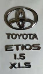 Toyota etios acessórios