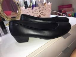 Sapato plataforma social