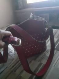 Bolsa feminina couro usada