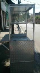 Barraca de aluminio vendo ou alugo