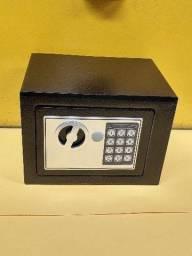 Cofre em Aço Digital Senha e Chave