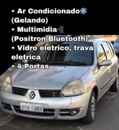 Clio 2006  Com Ar Condicionado - Parcelo NO CARTÃO (repasso a taxa da maquininha) ??