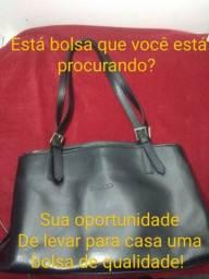 Bolsa de couro conservada para Você sair no dia a dia- Promoção