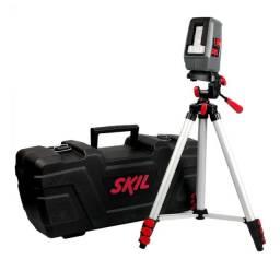 Nível a laser skill com tripé e maleta