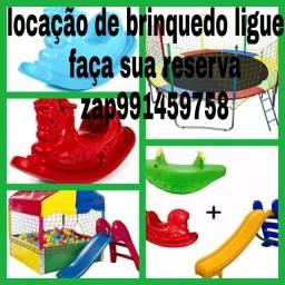 Aluguel de pula pula e outros brinquedos