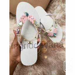 Sandálias customizadas