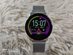 Relógio inteligente feminino - atividades físicas e notificações