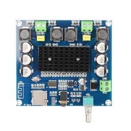 Placa amplificada 200w com bluetooth