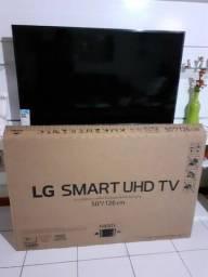 Smart TV 4k LG de 50 polegadas com um ano de garantia por R$2200