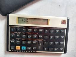 Calculadora financeira HP 12C gold semi nova