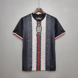 Camisa Inglaterra preta