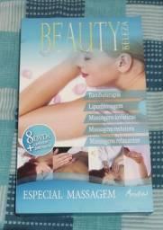 Livro e Dvds Beauty Beleza - Curso de Massagem Estética