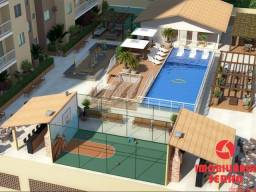SGJ [K154] Vivenda Tropical - 2 quartos - 45m² - Condomínio fechado