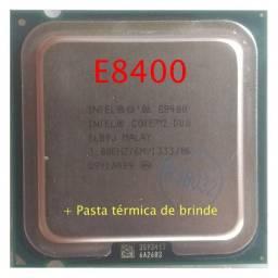 Processador Intel C2D E8400 Lga775