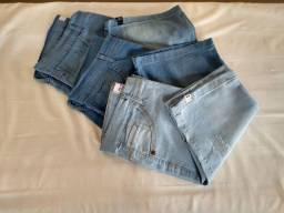 Bermudas jeans do 40 ao 44 apenas 40 reais ultimas peças