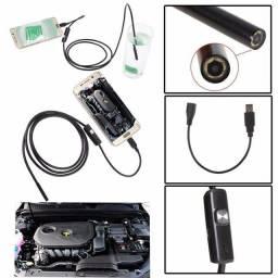 Camera de inspeção endoscopica sonda 2m
