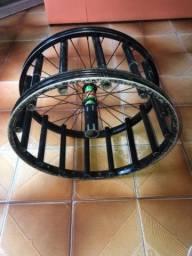 Carretilha de aro de bicicleta
