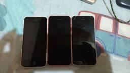 3 iPhones desligou do nada , vendo para retirar peças