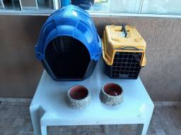 Kit Casa + caixa transporte + 2 potes