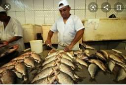 Vaga para peixeiro profissional
