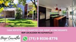 Casa com piscina privativa, no melhor bairro de Salvador - (R2)