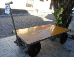 Carrinho de carga, tipo plataforma