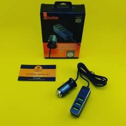 Carregador de Celular ( Veícular ) Basike - 4 USB