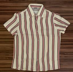 Camisa de botão