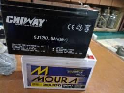 Bateria nobreak 12 v 7 a 20 hs