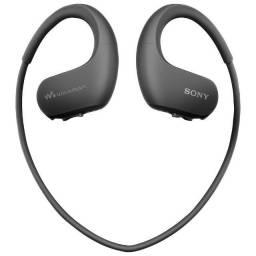 Fone De Ouvido Sony Walkman NW-WS413 4 GB - Preto - 12X Sem Juros