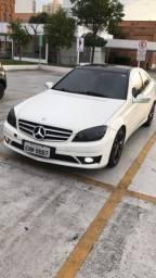 Mercedes branca teto panorâmico !!!