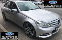 Mercedes-Benz C 180 CGI Classic Aut. 2012. Ent. a partir de 13.500,00 + Fixas de 1.099,99