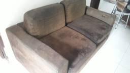 Sofá usado pra vender logo