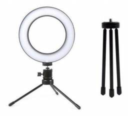 Ring Light Led Mesa Iluminador MIni Tripé  - Ideal para Youtuber
