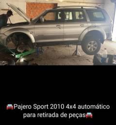 Pagero sport 4x4 2010 para retirada de peças