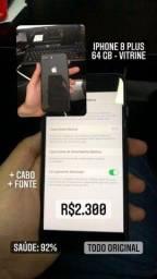 iPhone 8 Plus 64 gb de vitrine