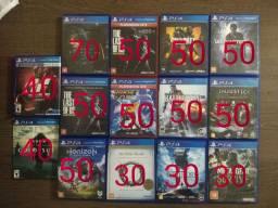 Jogos PS4. Retirada apenas no Valparaíso.