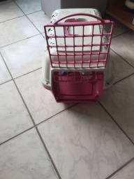 Casa para transporte de cachorro