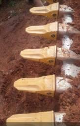 Vendo unhas da escavadeira  jhondere 210G