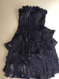 Título do anúncio: Vestido de Festa Tomara que caia (M) e bolsa