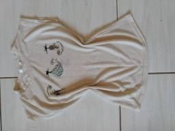 Blusa de gatinho