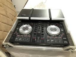 Título do anúncio: Mesa DJ Pioneer mais caixa de proteção